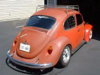 somewhat slammed '69 Bug