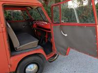 German firetruck (Split) '63 dashboard, passenger side