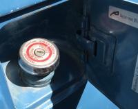Locking gas cap 1973 bus