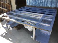 DOuble cab bed area