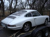 1968 porsche 912 with 4   4 1/2 wheels
