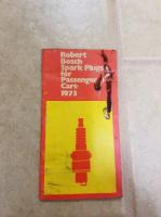 1973 Bosch spark plugs catalog