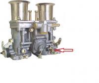Weber vacuum port
