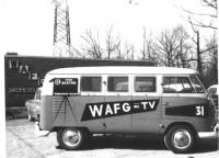 Vintage photo of News Bus