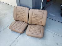 Bus Front Seats Reupholstered