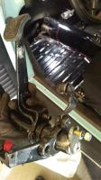Clutch hook pedal cluster