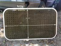 vanagon engine cover aluminum dimensions