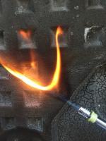 Vanagon foam fire