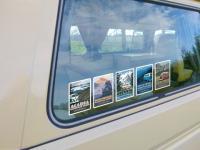 NPS Westfalia stickers