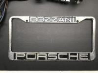 Bozzani Porsche Dealer Plate Frame