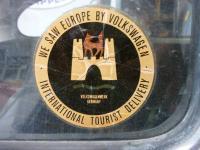 tourist decal