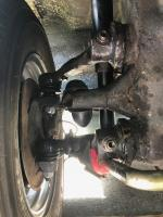 fron suspensin clearance with new torsion leaves
