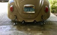 1967 Beetle rear bumper resto