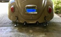 67 Beetle Rear Bumper Resto
