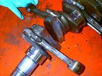 Broken crank