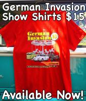 German Invasion 10  Show shirts available