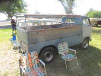Single-Cab Split Window buses at Nor Cal Bus Fest August 18th, 2019