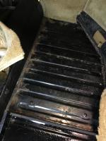 Front passenger floorboard