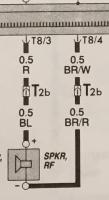 Bentley Book (1980-1989) Page 97.196 Radio Wiring - RF Speaker