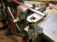 Flange hold tool