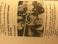 AFC Throttle Switch/ Full Throttle Enrichment
