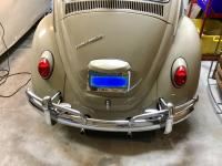 67 Beetle rear bumper
