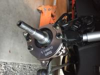 EMPI bus disc brake install on drop spindles