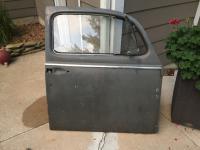 1960-1964 passenger door from the junkyard
