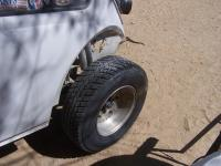 Baja Bug fiberglass fender repair