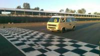 The checkered flag, sort of