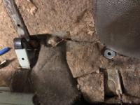 Installing rear lap belts