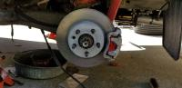 280mm rear disc brakes