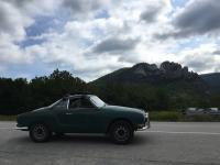 Karmann Ghia at Seneca Rocks