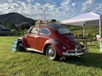 """Mabel"" All original 1961 Ruby Red beetle"