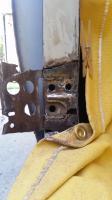 Early Door hinge repair