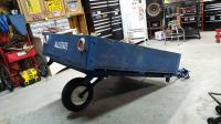Sears Allstate Wood Box Trailer