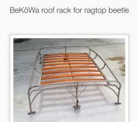 Bekowa ragtop rack