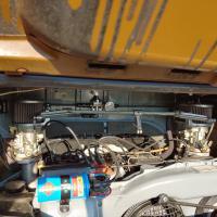 VW Bus fuel line re-routing (custom)