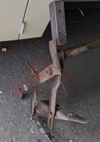 vanagon hard top Z bed metal frame seat belt installation