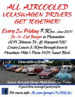 Norcal Aircooled Group Monthly Get Together