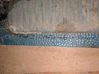 Satin Blue Mat