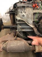 Missing engine part