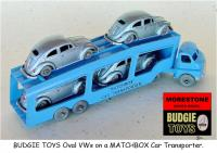 BUDGIE TOYS Oval VW