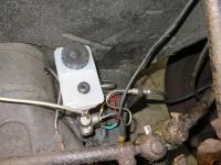 direct mount brake reservoir on dual m/c