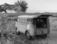 1960 Desert Bus Walkthrough WT Panel SWR Original Paint Joshua Tree California Off Road Dirt Type 4 Big Nut Golden Hour Solitude Summer