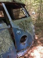 1957 Dove Blue Kombi as found