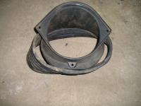 Flange, cooling air intake