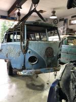 1957 Dove Blue Kombi roller