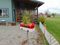 VW Bus Planter