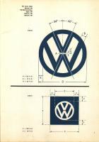 VW badge dimensions